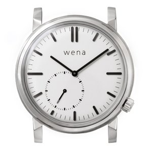 wena wrist Three Hands Retro White head|firstflight