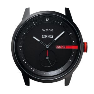 wena Three Hands Premium Black desinged by Giugiaro Architettura|firstflight
