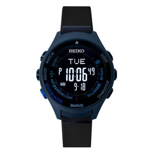 seiko wena wrist active Digital Solar head Blue Black|firstflight