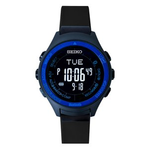 seiko wena wrist active Digital Solar head Blue|firstflight