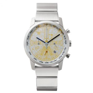 "wena wrist pro Chronograph Silver set /STAR WARS limited edition ""THE LIGHT SIDE""|firstflight"