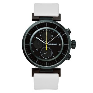 wena wrist leather Chronograph set White -ISSEY MIYAKE Edition-|firstflight