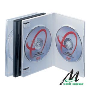 2枚用 トールケースアマレー 両開き DVDケース:FD1018 10枚 firstmulti