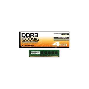 【お取り寄せ】メモリー(デスクトップ用)|GH-DVT1600-4GH【4GB】4GbitDRAM搭載|firstmulti