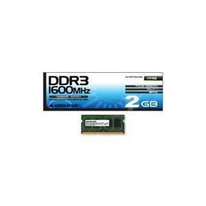 【お取り寄せ】メモリー(ノート用)|GH-DWT1600-2GB【2GB】|firstmulti