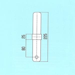 ALINCO(アルインコ) 鋼製ローリングタワー RT用部材 連結ピン(アームロックタイプ) A20A [FA]