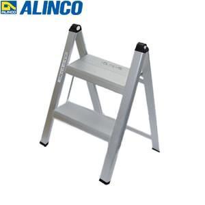 ALINCO(アルインコ) アルミ製 薄型踏台 SS-52A 2段 シルバー [FA]