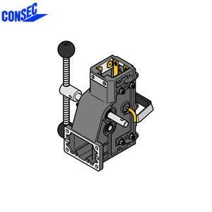 コンセック 口59 クランプ組 CL-592C コアドリル(ギヤドモータ)用 スライドプレート式|firstnet