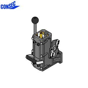 コンセック 口59 クランプ組 CL-592EC コアドリル(ギヤドモータ)用 スライドプレート式 EHAC仕様(自動送り装置対応)|firstnet