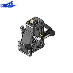 コンセック 口59 クランプ組 CL-593E コアドリル(ギヤドモータ)用 ローラースライド式 EHAC仕様(自動送り装置対応)|firstnet