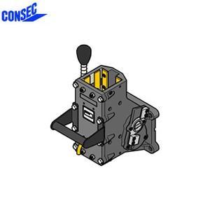 コンセック 口74 クランプ組 CL-743 コアドリル(ギヤドモータ)用 スライドプレート式|firstnet
