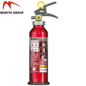 モリタ宮田工業 アルミ製蓄圧式粉末ABC消火器 住宅用 アルテシモ MEA4H