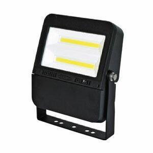 日動工業 常設用LED照明 フラットライト 75Wタイプ LJS-F75D-BK-50K ボディーカラー:黒 100V/200V兼用 昼白色|firstnet