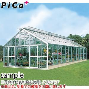 ピカ(Pica) 大型温室 マイルームS AMS30100 S 坪 間口3間 側面窓:標準窓 天窓:両天窓 [送料別途お見積り]