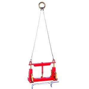 サンキョウトレーディング マシンバイス 内吊ジャスト 300オート コンクリートU字溝吊りクランプ(ワイヤー付) :1台 【在庫有り】[FA]|firstnet