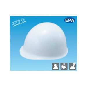 安全標識 3002 保護帽(ヘルメット) MP型 エアライト EPA カラー:白 PC製 [代引不可商品][送料別途お見積り]|firstnet