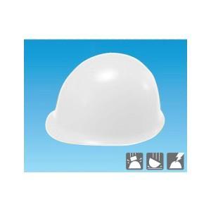 安全標識 3105 保護帽(ヘルメット) MP型 カラー:白 ABS製 [代引不可商品][送料別途お見積り]|firstnet