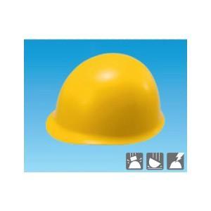 安全標識 3105-Y 保護帽(ヘルメット) MP型 カラー:黄 ABS製 [代引不可商品][送料別途お見積り]|firstnet