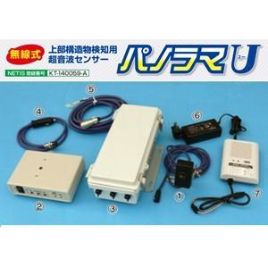 安全標識 6513 パノラマU 無線式上部構造物検知用超音波センサー|firstnet