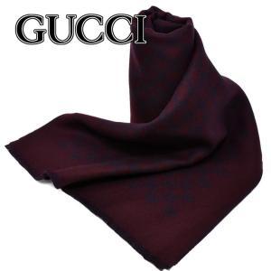 グッチ GUCCI 391246-4G200-6168 GG スカーフ マフラー リバーシブル メン...