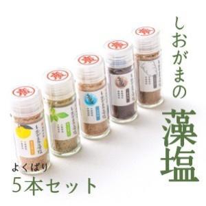 しおがまの藻塩5風味セット|fishermanjapan