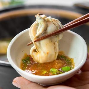 何個でもいけちゃう!いろんな食感を楽しめる「牡蠣しゃぶしゃぶセット」|fishermanjapan