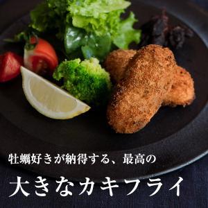 大きなカキフライ/パセリとチーズ味/カレーとガーリック味/10個入/牡蠣好き納得の最高のカキフライ