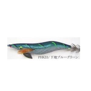 YO-ZURI アオリーQ いのまたオリジナルカラー ブルーグリーンテープ 3.5号【メール便可】 fishing-inomata