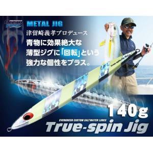 エバーグリーン トゥルースピンジグ 140g【メール便可】|fishing-inomata