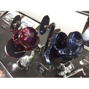 【限定】スタジオオーシャンマーク 15th ブルーヘブンL30Hi  ロイヤルブルー(左) サングラスケース付き fishing-inomata