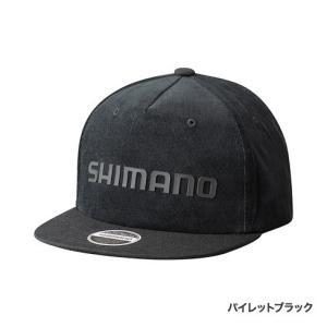 シマノ フラットブリムキャップ  CA-091R パイレットブラック フリー|fishing-inomata