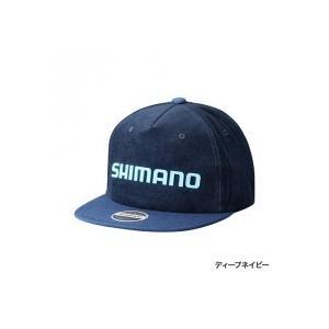 シマノ フラットブリムキャップ  CA-091R ディープネイビー フリー|fishing-inomata