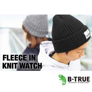 エバーグリーン B-TRUE (ビートゥルー) フリースinニットワッチ (防寒帽子)