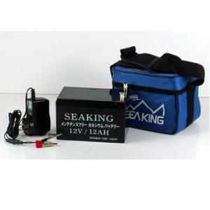 シーキング バッテリー (12V12Ah) 電動リール 魚探 釣り バッテリー (釣り具)|fishing-you