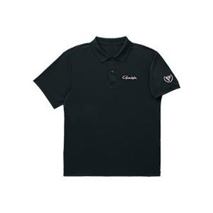 がまかつ ポロシャツ (半袖) ブラック GM-3450 (フィッシングウェア)