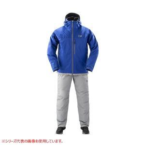 ダイワ レインマックス エクストラ ハイロフト ウィンタースーツ ブルー DW-3209 (防寒着 ...