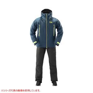 ダイワ レインマックス ウィンタースーツ DW-33009 スモークネイビー (防寒着 上下セット ...