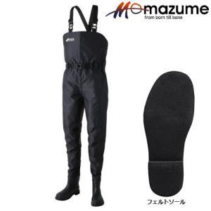 マズメ MZX エントリーウェイダー MZBF-042 ブラック (ウェーダー)