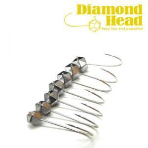 ●煌めきの効果: ダイヤモンドのカット面の様な形になっているので、動かすと各面で陰と日向が出来ます。...