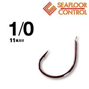 シーフロアコントロール JAMフックライト ブラック (タイラバフック バラ針) #1/0 fishing-you
