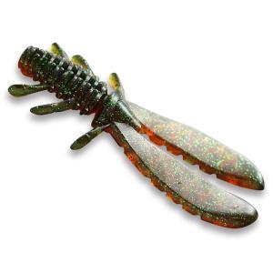 一誠 (イッセイ) AKチャンク 4in (ブラックバス ワーム)|fishing-you