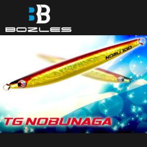TGノブナガ 100g (メタルジグ) ■全長:98mm ■自重:100g ≪ボーズレス メタルジグ...