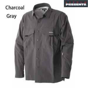 ドライシャツ S-09 チャコールグレイ ■カラー:チャコールグレイ ■材質:ナイロン / Nylo...