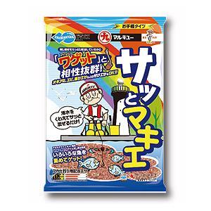 マルキュー サッとマキエ ■内容量:1800g ≪マルキュー エサ≫  ●集魚効果の高いアミオキアミ...