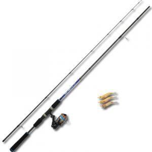 エギング セット ダイレクト エギングセットII 8.0ft (PEライン1号-100m付き)(釣り竿 セット)