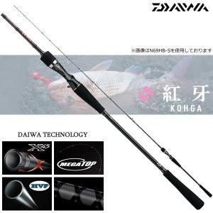 (最大25倍!11/18まで店内ポイントアップ中!) ダイワ 紅牙 N69HB-S (タイラバロッド) (大型商品)|fishing-you
