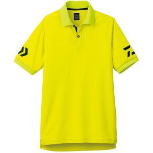 半袖ポロシャツ DE-7906 サルファースプリング×オリーブ ■カラー:サルファースプリング×オリ...
