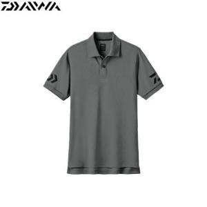 半袖ポロシャツ DE-7906 ガンメタル×ブラック ■カラー:ガンメタル×ブラック ■表地素材:ポ...