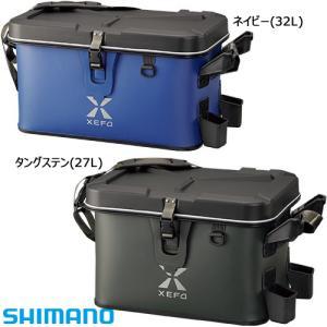 シマノ XEFO タックルバッグ BK-201Q 32L (ハードタイプ フィッシングバッグ EVA)|fishing-you