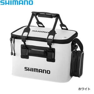 シマノ フィッシュバッカン EV BK-026Q ホワイト 45cm (キーパーバッカン 釣具)|fishing-you